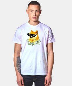 Dogecoin The Rich Shiba Inu Doge T Shirt