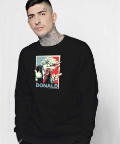 Donald Duck For President Sweatshirt