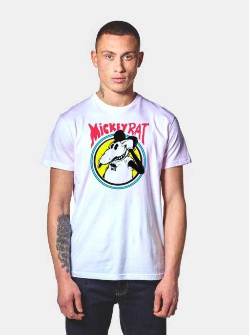 Mickey Mouse Rat Parody T Shirt