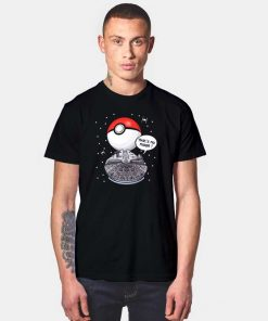 Millenium Falcon That's No Moon Pokeball T Shirt