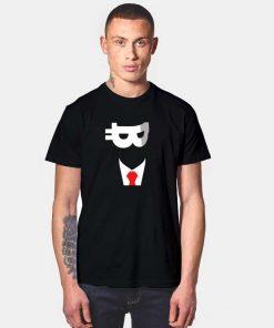 Satoshi Nakamoto Bitcoin Face T Shirt