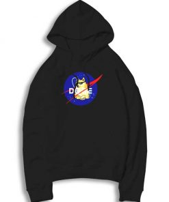 Space Doge Nasa Logo Hoodie
