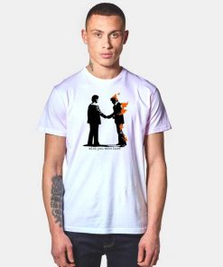 Pink Floyd Wish You Were Here Flaming T Shirt