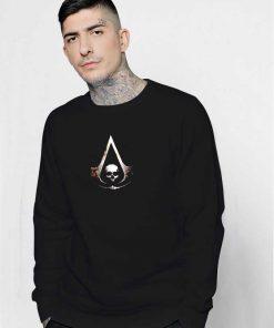Assassins Creed Skull Symbol Sweatshirt