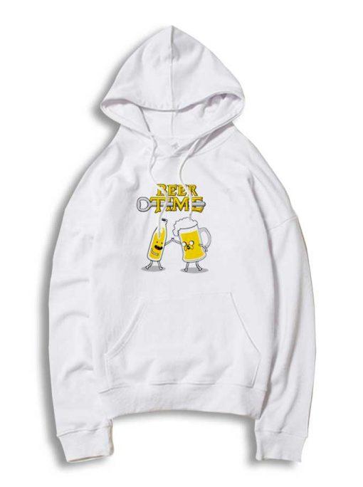 Beer Time Adventure Time Parody Hoodie