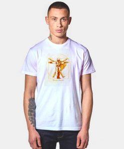 Vitruvian Assassins Diagram T Shirt