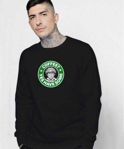 Ghostbuster Coffee Logo Sweatshirt