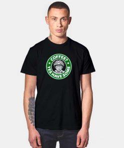 Ghostbuster Coffee Logo T Shirt