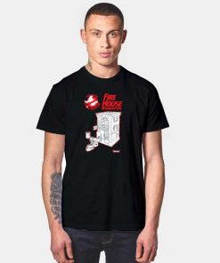 Ghostbusters Fire House Headquarters T Shirt