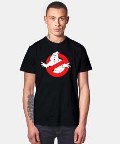 Ghostbusters Original Retro Logo T Shirt