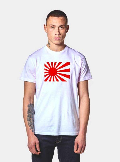Japan Rising Sun Flag Olympics T Shirt