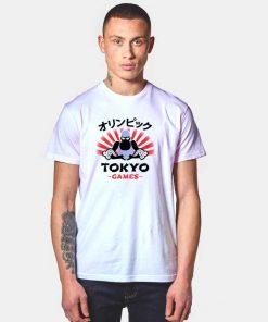 Kanji Japanese Tokyo Games Olympics T Shirt