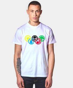 Magic Element Olympic Mana T Shirt