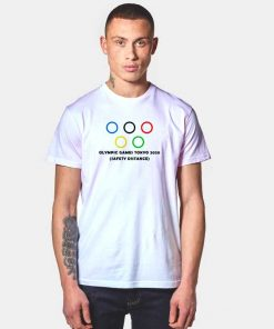 Olympic Games Tokyo 2020 Safety Distance T Shirt