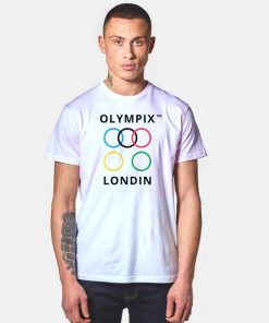 Olympix Londin Ring Logo T Shirt