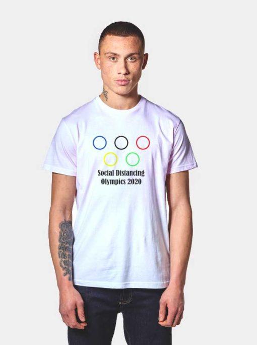 Social Distancing Olympics 2020 T Shirt