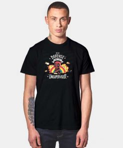 Unsupervised Deadpool Chibi T Shirt