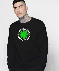 Green Sweet Bell Peppers Logo Sweatshirt