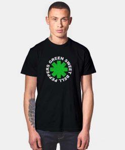 Green Sweet Bell Peppers Logo T Shirt