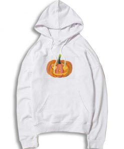 Halloween Rainbow Heart Eyes Pumpkin Hoodie