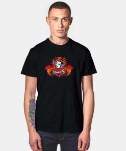 Japanese Hearts of Death Dragon T Shirt