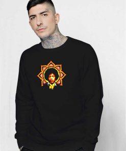 Jim Flower Afro Logo Sweatshirt