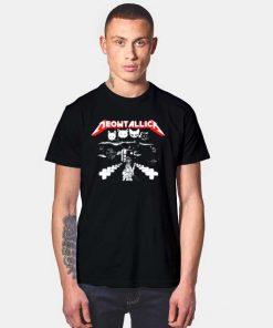 Meowtallica Cat Metal Band T Shirt