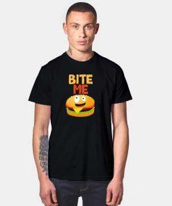 Burger Bite Me Delicious T Shirt