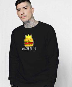 Burger Queen Crown Sweatshirt