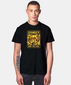 Danger High Voltage Zenitsu T Shirt