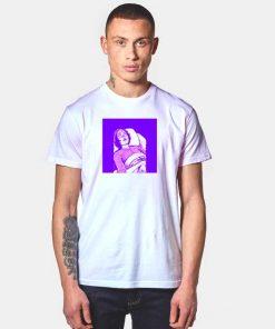Junji Ito Purple Women T Shirt