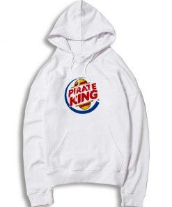 Pirate Burger King Straw Hat Logo Hoodie